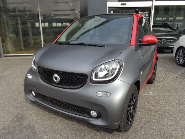 smart forTwo 70 1.0 twinamic Passion PACK SPORT/GRAY MAT/FULL!!